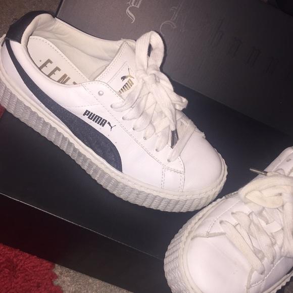 low priced 45a14 c6f70 Creeper White & Black Puma Sneakers
